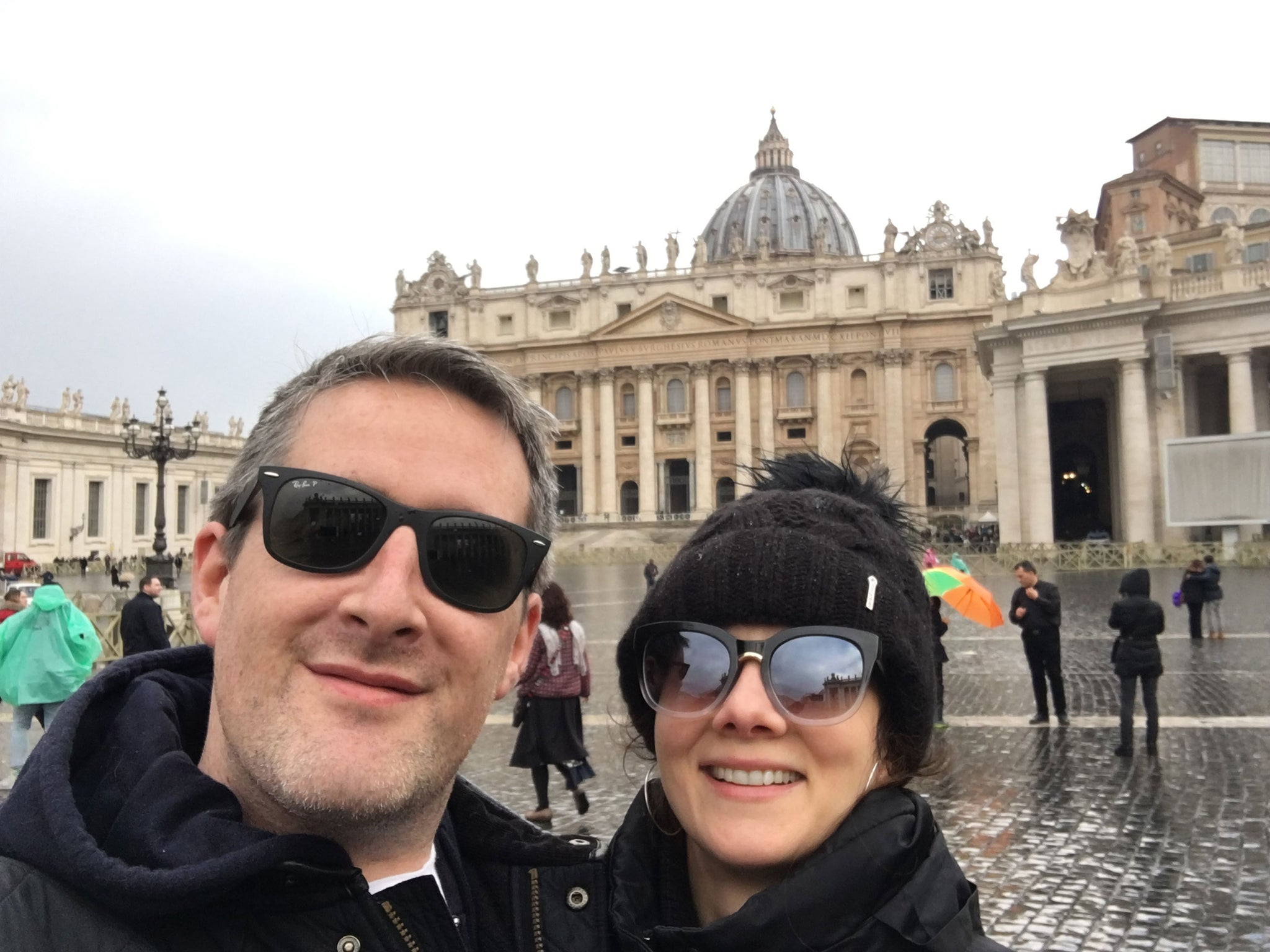 aggie and chris from the proper soap company in rome