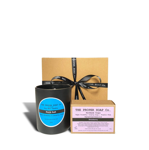 soap and candle gift box