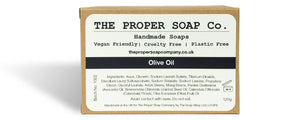 Olive Oil Soap Bar - The Proper Soap Company