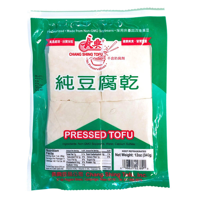 長興豆干(白) - Chang Shing Pressed Tofu White