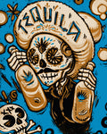 Day of the Dead Tequila Borracho Photo Print