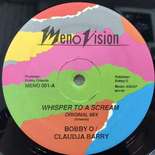 Bobby O / Claudja Barry - Whisper To A Scream [Meno Vision]