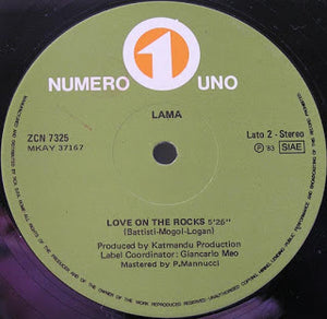 Lama - Nineteen Ninety Three / Love On The Rocks [Numero Uno]