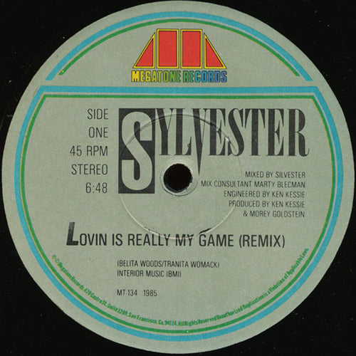 Sylvester - Lovin Is Really My Game [Megatone Records]