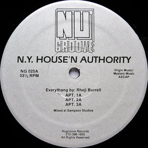 N.Y. House'N Authority - APT. [Nu Groove]