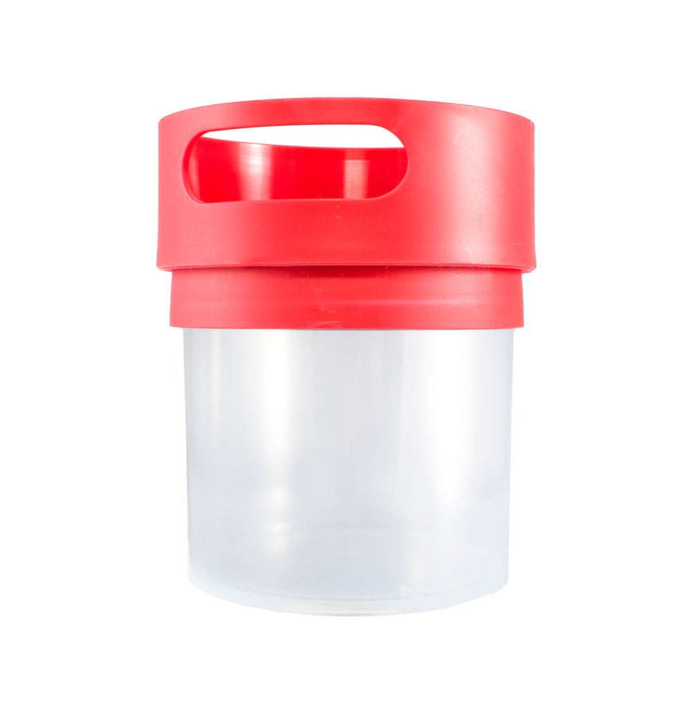 Munchie Mug Blank Jar Spill Proof Snack Cup for Toddlers 12 oz (multiple colors)