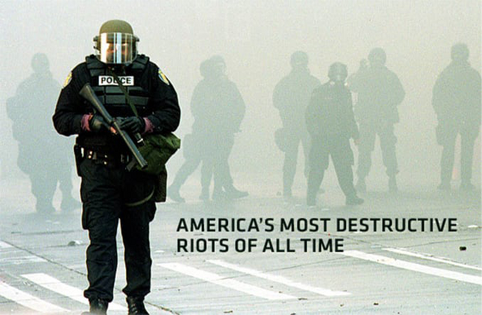 Mass racial violence in the United States over the past half century