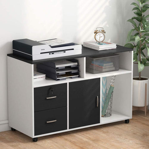 3 Drawer File Cabinet with Lock
