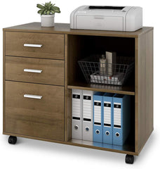 devaise printer stand file cabinet