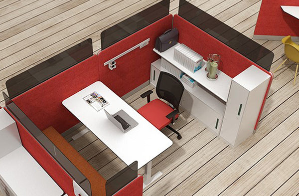 make small office looks bigger