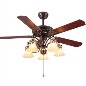 Ceiling Fan with LED Light and Remote Kit, 42inches - Devaise