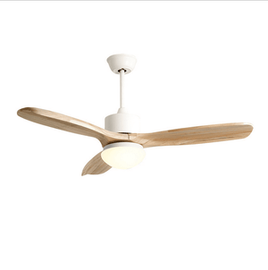 Ceiling Fan with LED Light and Remote Kit, 42inches, White - Devaise