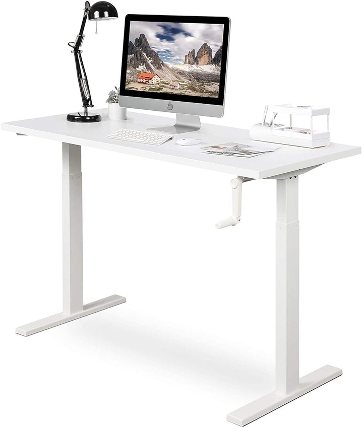 Adjustable Height Standing Desk 55 inch, Black