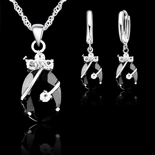 Silver Jewelry Set N-4 - Landsyne