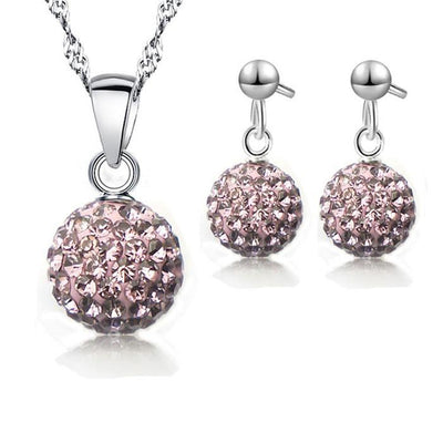 Silver Jewelry Set N-5 - Landsyne