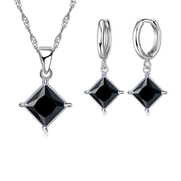 Silver Jewelry Set N-6 - Landsyne