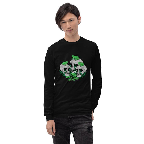 Skull Frog Long Sleeve Shirt - Landsyne