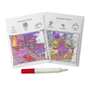 ColorBlast! - Princess Coloring Pad - ON the GO Travel Activity