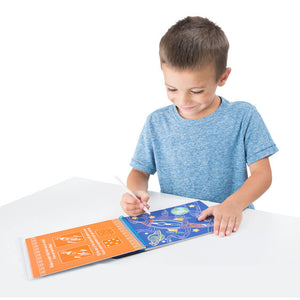 Scratch Art - Vehicles Color-Reveal Pad - ON the GO Travel Activity