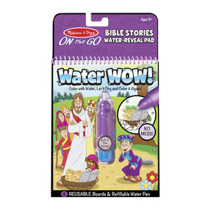 Water WOW! Bible Stories - ON the GO Travel Activity