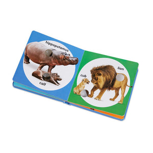Poke-A-Dot Book: Wild Animal Families