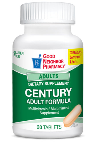 Good Neighbor Pharmacy Century Adult Multivitamin Tablets 60ct