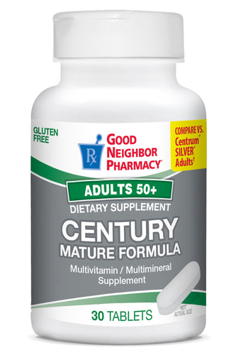 Good Neighbor Pharmacy Century Mature Multivitamin Tablets 30ct