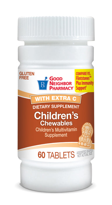 Good Neighbor Pharmacy Children's Chewable Multivitamin w/ extra C Tablets 60ct