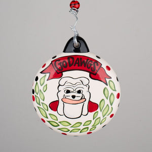 Georgia Puff Ornament