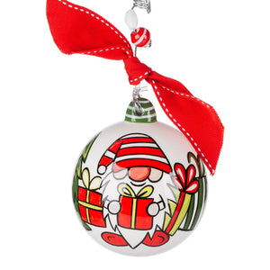 Gnome Sweet Home Ball Ornament