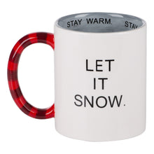 Load image into Gallery viewer, Stay Warm Stay Cozy Snowman Mug