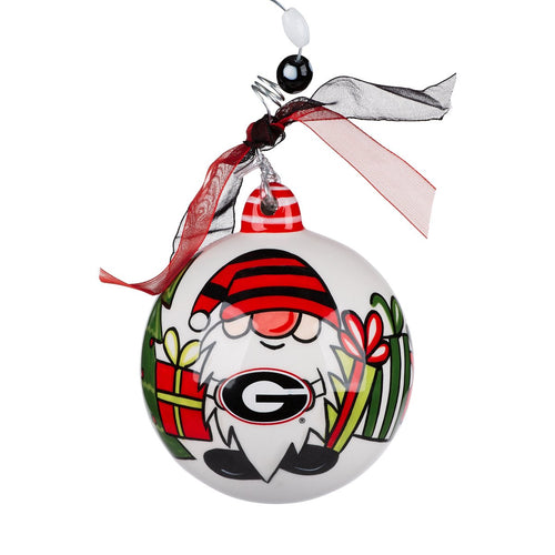 Georgia Gnome Ball Ornament