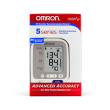 Load image into Gallery viewer, Omron 5 Series Upper Arm Blood Pressure Monitor