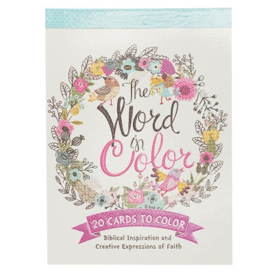 Coloring Cards - The Word In Color