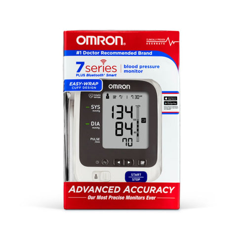 Omron 7 Series Wireless Upper Arm Blood Pressure Monitor