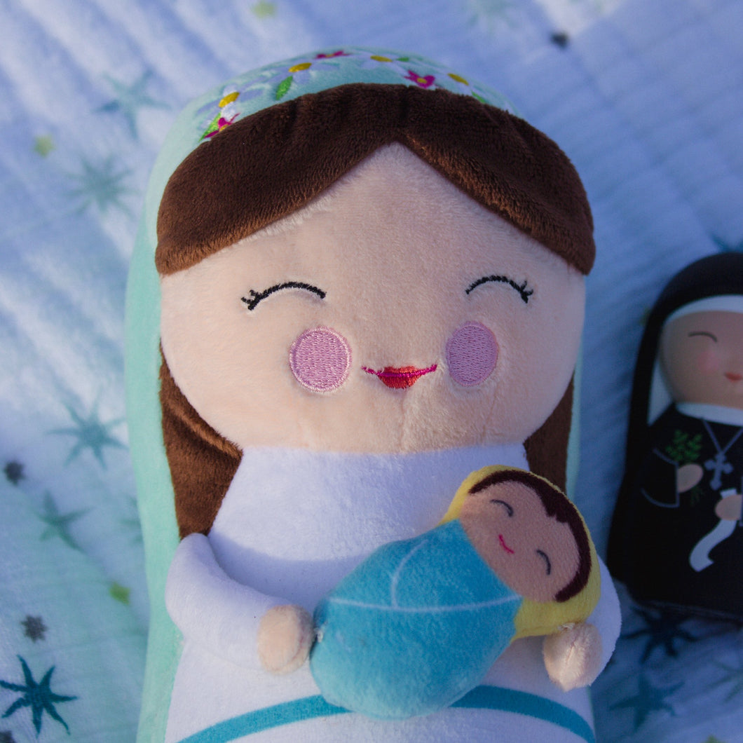 Shining Light Dolls Blessed Mary Plush