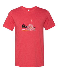 Holy Night - Christ's Nativity Red T-Shirt