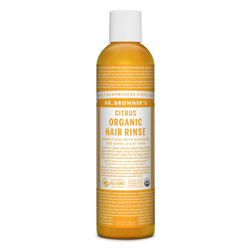 Organic Hair Rinse Citrus 8oz