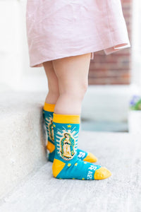 Sock Religious Our Lady of Guadalupe Kid Socks