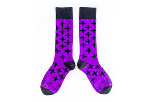 Sock Religious Lent Adult Socks