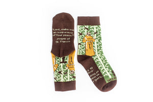 Sock Religious St. Francis of Assisi Kid Socks