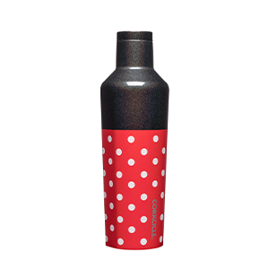 Corkcicle 16oz Canteen - Minnie Polka Dots