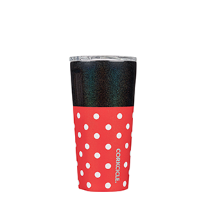 Corkcicle Minnie Polka Dots 16oz Tumbler