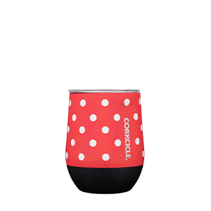 Corkcicle Stemless Disney Minnie Polka Dots