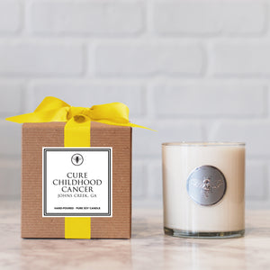 "Ella B "" Cure Childhood Cancer"" 11oz Candle"