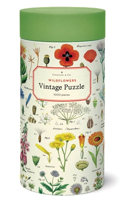Vintage Puzzle - Wildflowers (1,000 pieces)