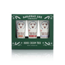 Load image into Gallery viewer, Holiday Trio Hand Cream Set