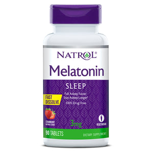 Natrol Melatonin Fast Dissolve 3mg (120 tablets)