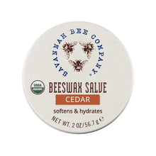 Load image into Gallery viewer, Cedar Beeswax Salve