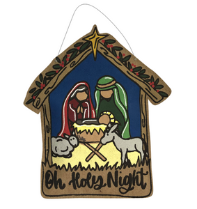 Oh Holy Night Nativity Burlee